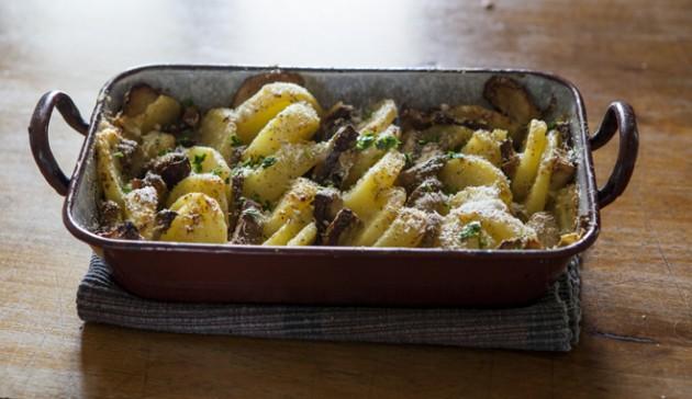 funghi porcini con patate