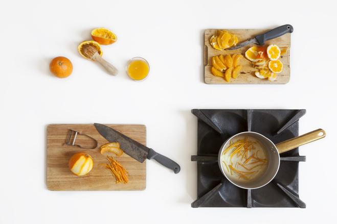 preparare le arance