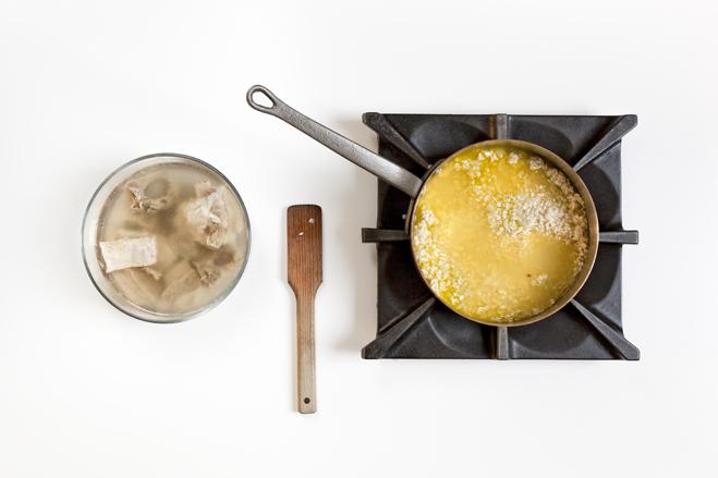 bollire il risotto