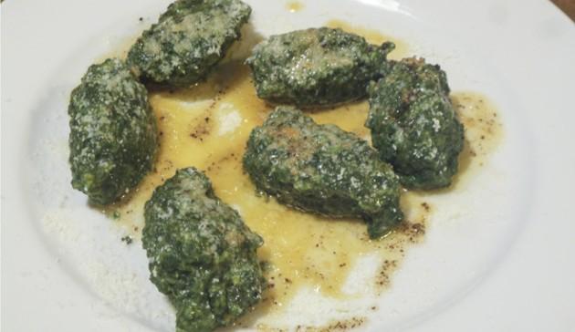 gnudi di spinaci