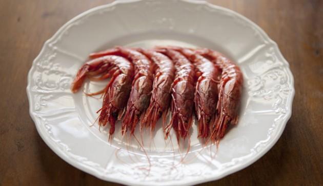 Gamberi rossi di sicilia - gamberi marinati