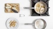 Libri di cucina - La Separazione delle cotture - Ricetta - Pere al Cioccolato