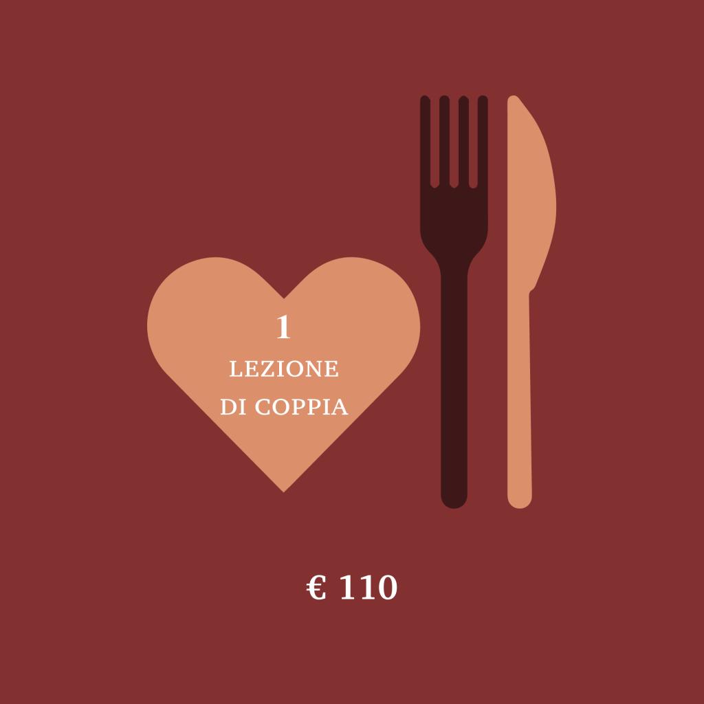 offerte regalo lezioni di cucina 2018/2019 - 1 lezione di coppia