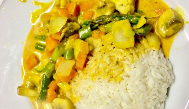 Curry Thailandese di Verdure