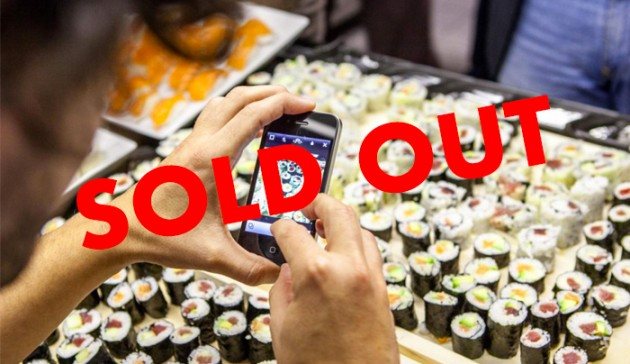 sushi sold out
