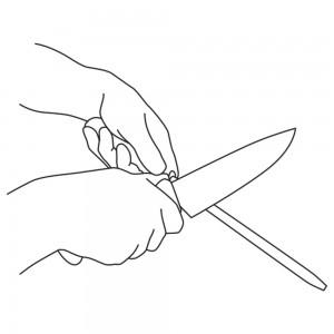 affilatura coltelli lamacarbonio