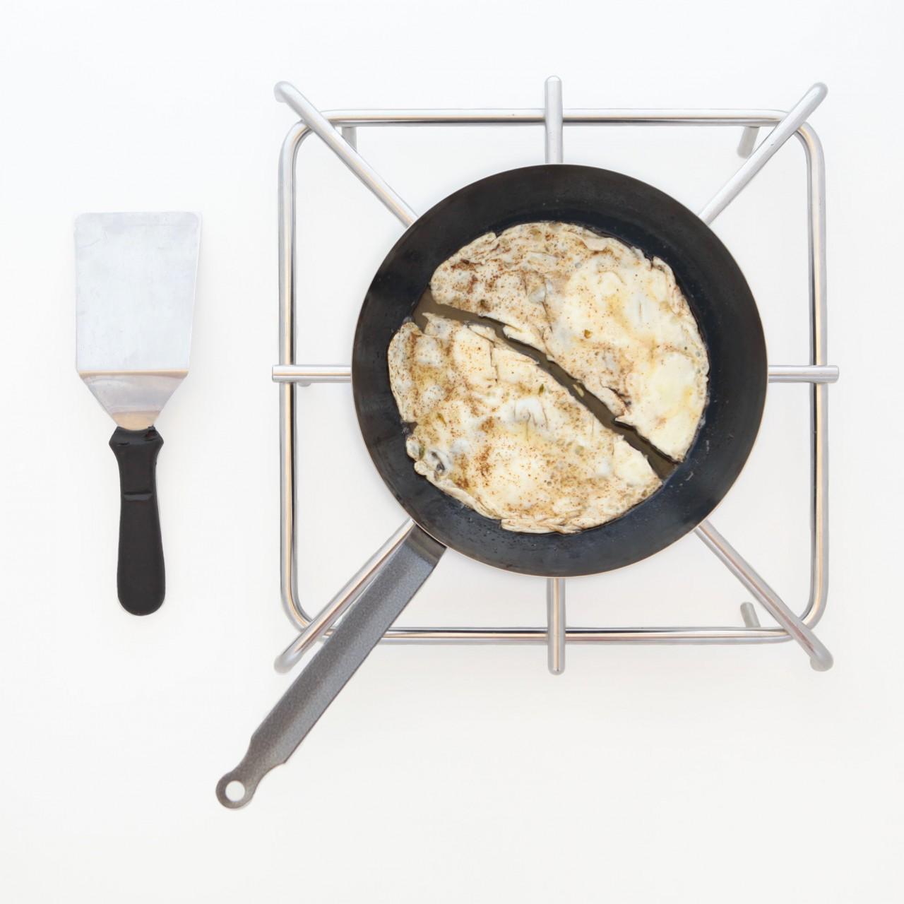 cucinare con le padelle di ferro