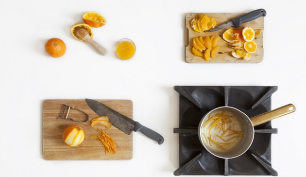 petto d'anatra all'arancia