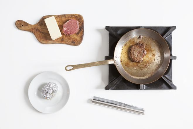 cottura e riposo del filetto