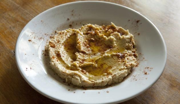 humus di ceci