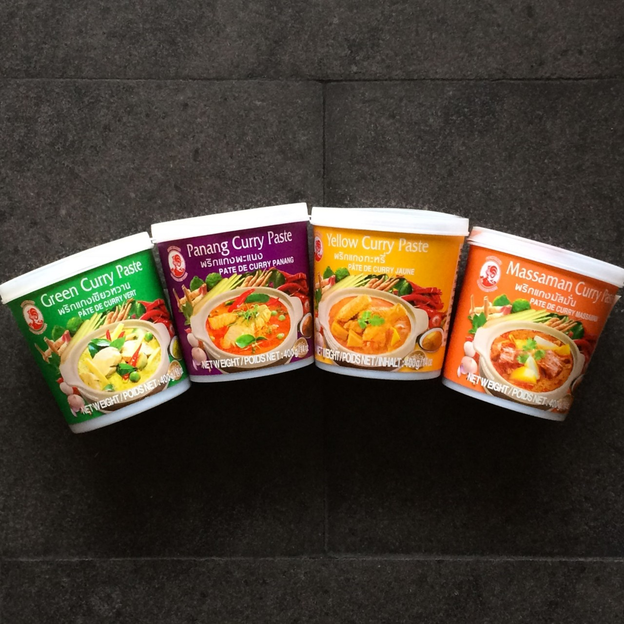 curry di pollo con verdure thailandese