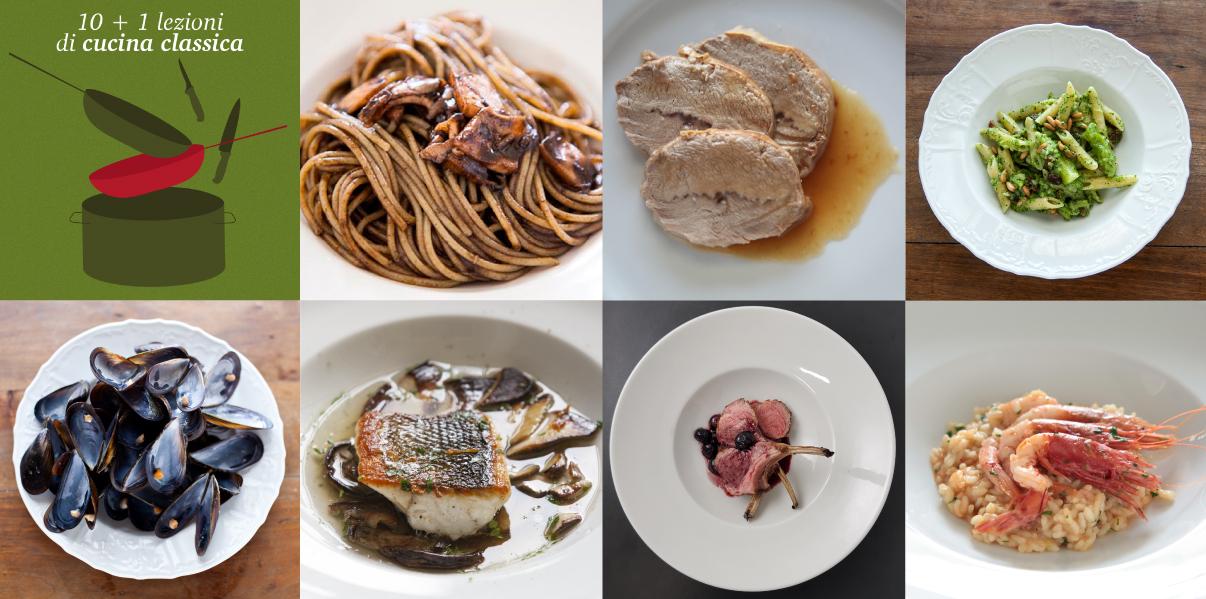 offerta 10 + 1 lezioni di cucina classica
